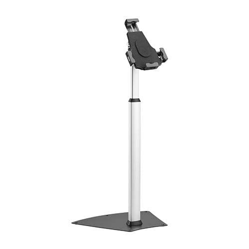 """PAD2104B Allcam PAD2104B Universal Tablet Kiosk Floor Stand w/ Security Screw for iPad and 8""""-10.1"""" Tablets (PAD2103AB + PAD1205AB)"""
