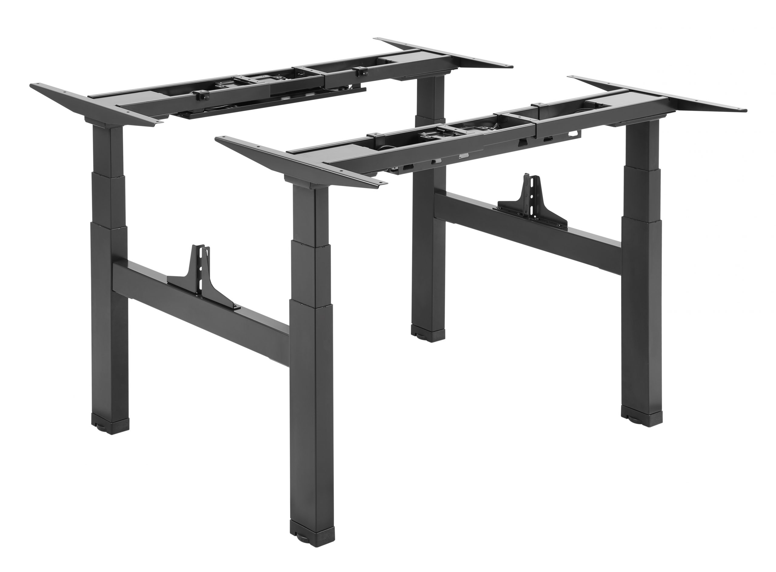 Allcam EDF14QB electric sit-stand desks frame black