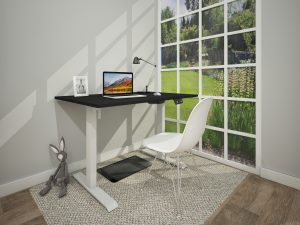 home working electric height adjustable sit stand desk