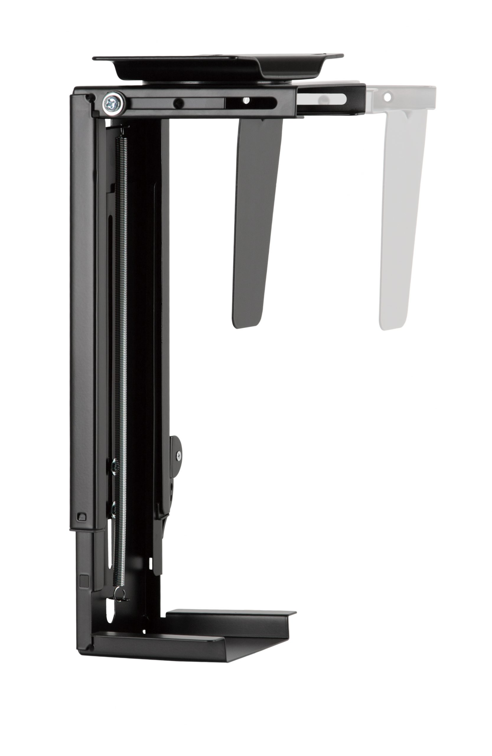 Allcam PH19UDB under-desk CPU holder PC computer mount width adjustable