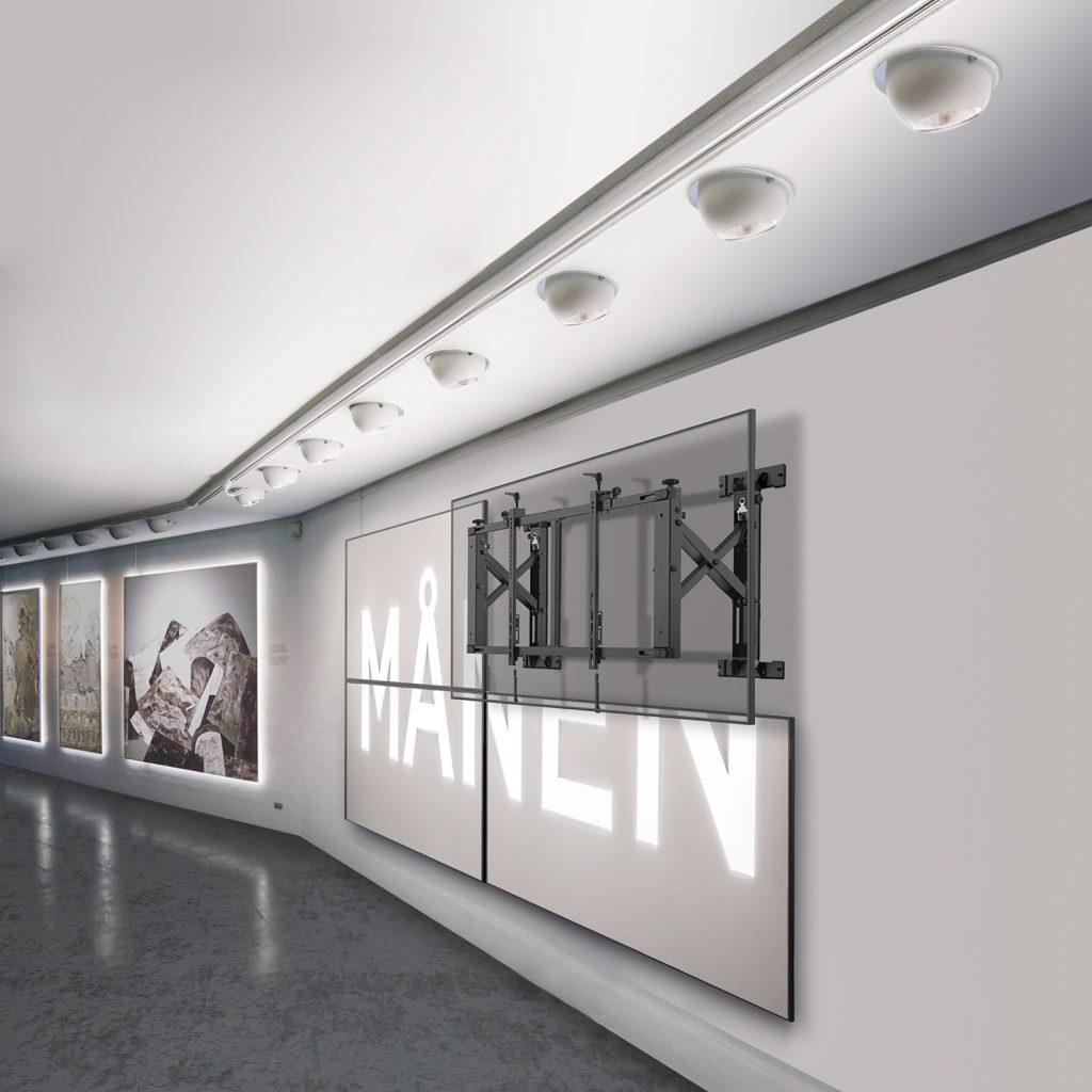 VW64A video wall module in use gallery