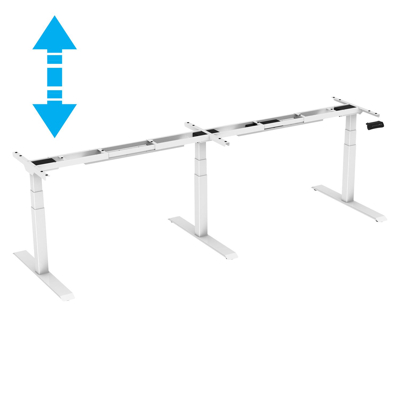 EDF35TM Triple-motor Electric Height Adjustable Standing Meeting Table Desk Frame