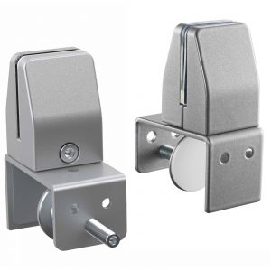 SEM04S Clamp-on Bracket to mount CoughGuard Panels to Existing Framed Privacy Screensn White or Silver